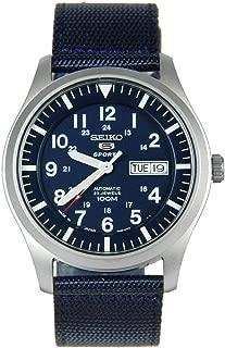 Men's SNZG11J1 5 Sports Blue Watch