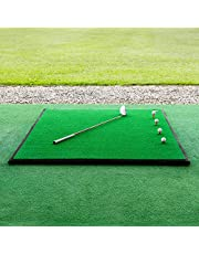 FORB Driving Range Golfmat   Professionele kwaliteit   Optionele rubberen basis & ballenlade