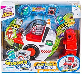 Grossery Gang The S3 Putrid Power The Clean Team Street Sweeper Playset Collector Playset