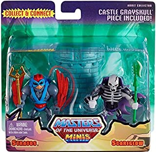 He-Man Masters of the Universe Exclusive Mini Figure 2-Pack Scareglow & Stratos
