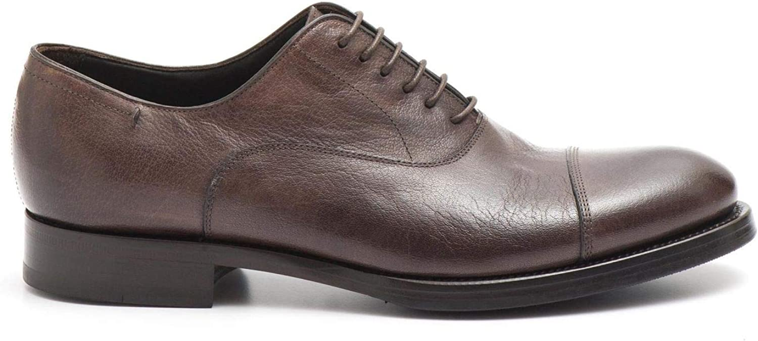 J. Wilton - Oxford schuhe in waxd braun crakled Leather - 290 767CANDY Mogano