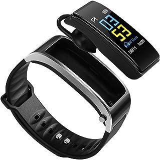 AOZBZ Bluetooth Headset Fitness Tracker Reloj Smart Watch