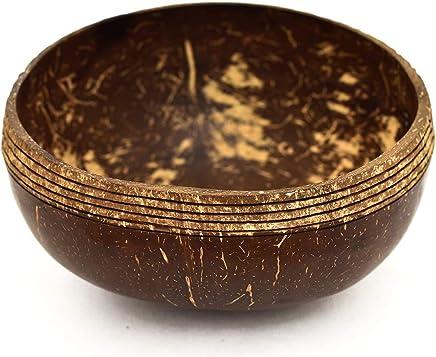 Preisvergleich für Coconut Bowl 100% Upcycling- & Naturprodukt | Große Kokosnuss Schalen für Smoothie Bowl - Buddha Bowl - Salad & Vegan Bowl | Für Frühstück und Dekoration | Mit Liebe zum Detail