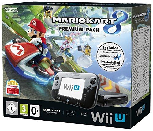 Nintendo Wii U 32GB Premium Pack With Mario Kart 8 [Importación Inglesa]