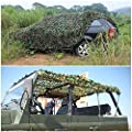 Hulorry Lightweight Camouflage Net Woodland Desert Camping Military Hunting Shooting Sunscreen Nets Desert Camo Net Sunscreen Netting