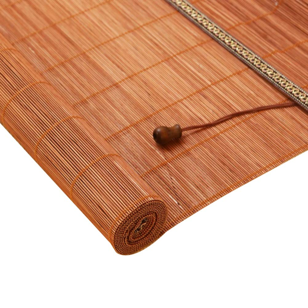 ZAQI Estores Enrollables Persianas Exteriores de Bambú con Cenefa, Persianas Enrollables para Cabañas de Playa Pergola Camper, 105/115 / 125cm De Ancho (Size : 125×130cm): Amazon.es: Hogar