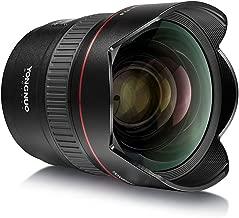 YONGNUO YN14mm F2.8 Ultra-wide Angle Prime Lens Auto/Manual Focus 114° Diagonal Angle for Canon DSLR Camera