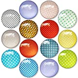 DUOUPA Kühlschrank Magnettafel Kühlschrankmagnete aus Glas 3D Magnete für Kühlschrank,...
