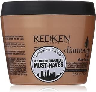 Redken Diamond Oil Deep Facets Intensive Treatment, 8.5 Ounce