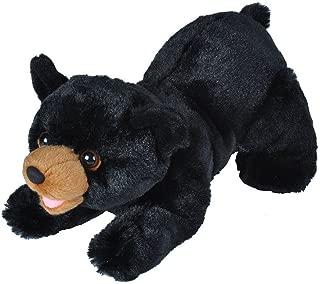Wild Republic Black Bear  Plush, Stuffed Animal, Plush Toy, Gifts For Kids, Playful Series 10 Inches