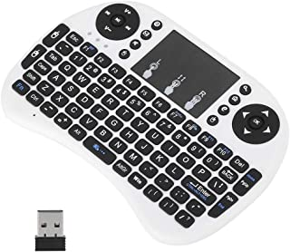Mini Wireless Keyboard Flymouse Double Mouse Left and Right Button Design Streamlined hot Key Design for Multimedia Contro...