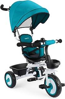 comprar comparacion Fascol 4 en 1 Triciclo para Niños con Asiento Giratorio Adecuado para Mayores de 12 Meses - 5 años Capacidad de Carga 30KG...