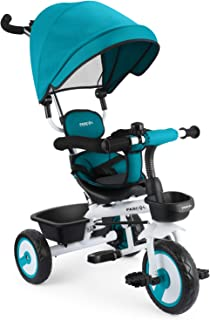 Fascol 4 en 1 Triciclo para Niños con Asiento Giratorio
