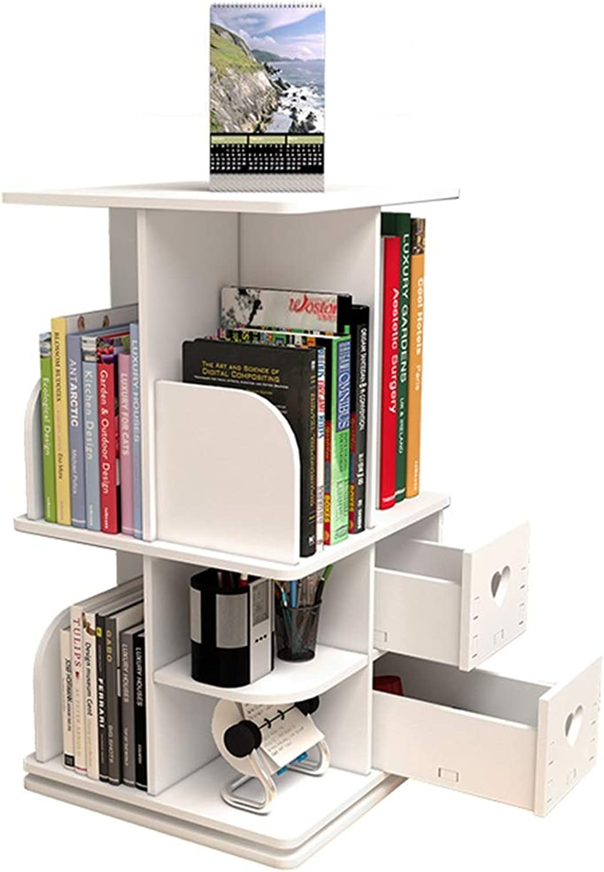 Bookshelves Simple Desk Storage Small Bookshelf Creative redating Shelf Student Desktop White bookcase bookcases Furniture (color   White)