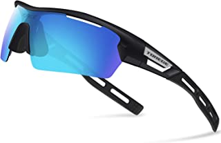 Polarized Sports Sunglasses for Men Women Cycling Running Driving TR033