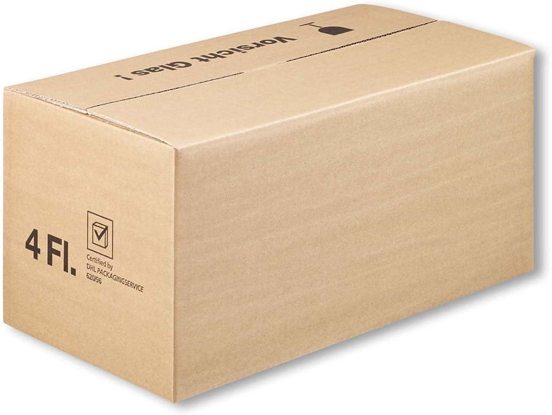 Wertpack 25x 4er Versandkarton für Geschenkkartons Geschenkkartons Geschenkkartons DHL PTZ-geprüft, 40 x 21 x 19 cm B07DF9YLJ3   Vorzüglich  d61cea