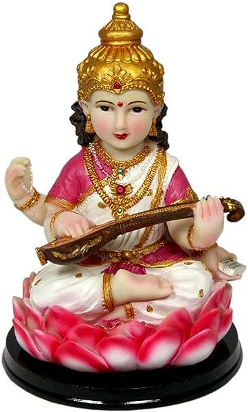 Krishna Culture Sweet Baby Saraswati Statue 6 Sarasvati Murti Goddess Of Knowledge Idol Golu Doll