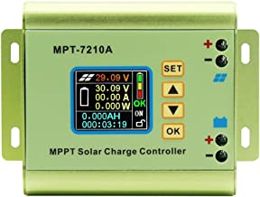 Horsebiz LCD Monitor MPPT Solar Panel Charge Controller MPT-7210A 24-72V 10A Boost Solar Battery Regulator