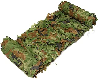 Image of WYHOME Adult Oxford Cloth Camouflage Net Military Waterproof Tarpaulin Sunscreen Shooting Hunting Camping Camping Tactics Outdoor Party Decoration, Various Sizes (Size : 6m×8m)