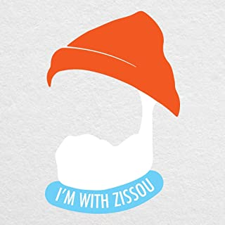 """I'm with ZISSOU - 6"""" high printed vinyl decal - For MacBook, cars, laptops, tablets and more!"""