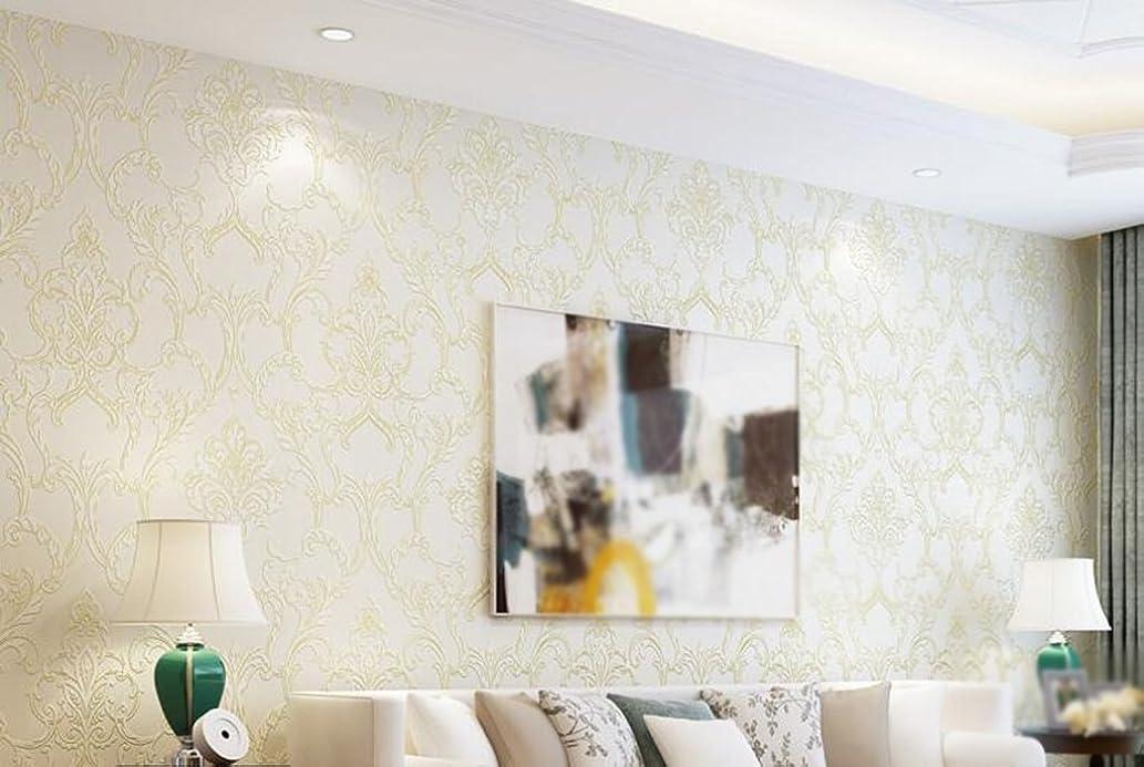 速度顧問消すYSYYSH 素敵な壁紙ヨーロッパのシルク不織布壁紙壁紙リビングルームテレビ背景壁 壁ステッカー壁画 (Color : #3)