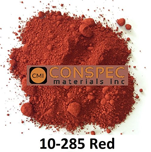 Conspec 1 Lbs. RED #10-285 Powdered Color for Concrete, Cement, Mortar, Grout, Plaster