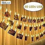 Clips para fotos con bombillas LED
