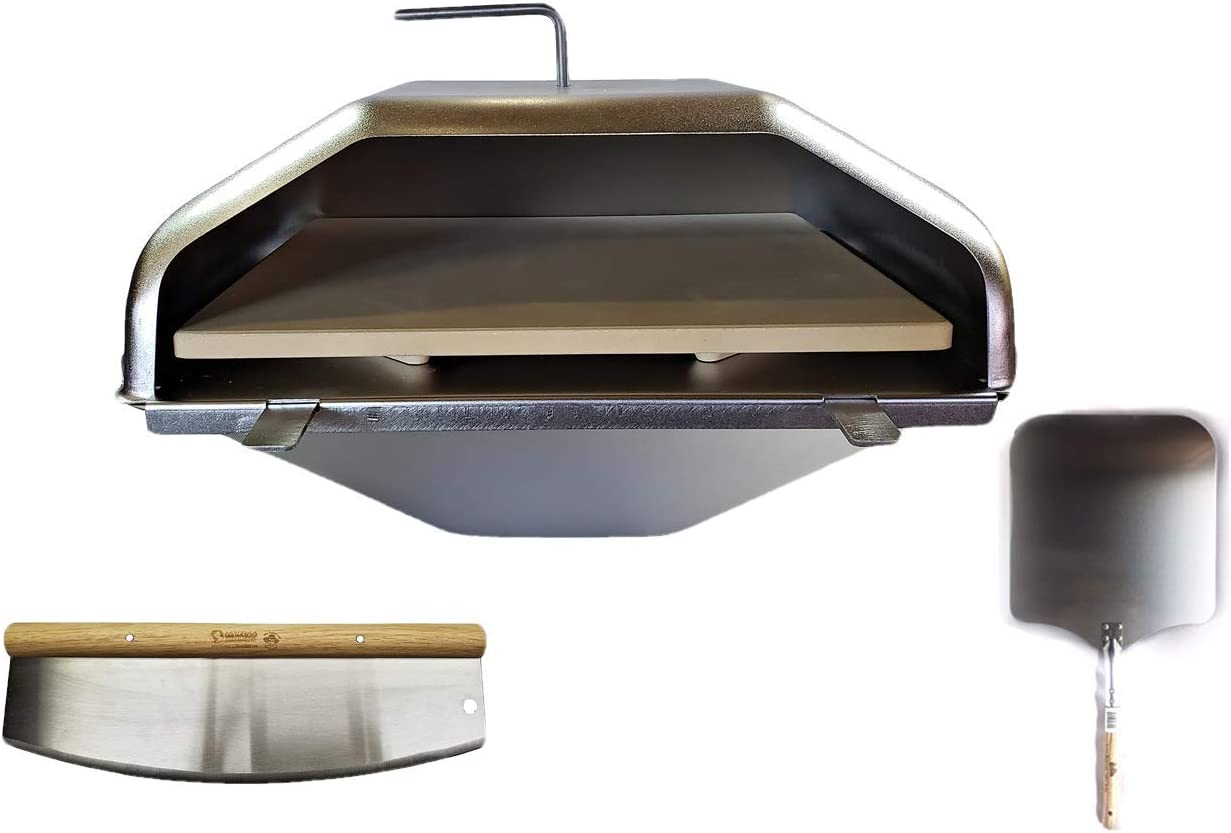 Green Oklahoma City Mall Mountain Cheap SALE Start Grill Pizza Oven Ultimate Includ Combo Attachment