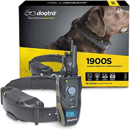 Dogtra 1900S Series: Remote Dog Training E-Collar Waterproof Rechargeable 3/4-Mile Range High-Output