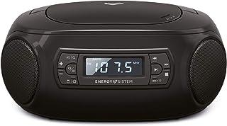 Energy سيستم Boombox 3 (مكبر صوت بلوتوث محمول ، مشغل سي دي ، مشغل ام بي 3 ، راديو اف ام )