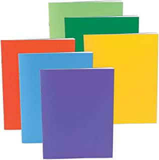 Hygloss Products Blank Jumbo Books for Journaling, Sketching, Writing & More – for Arts & Crafts, 11 x 17 Inches, 6 Bright, Fun Colors
