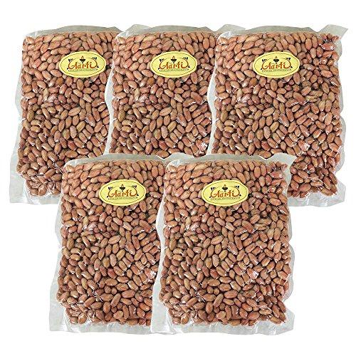 神戸アールティー ピーナッツ 生 渋皮付き 5kg 【1kg×5袋】 Peanuts 業務用 落花生 ナッツ 製菓材料