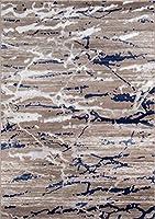 Momeni Rugs MONTEMO-01SND2030モントレーコレクションコンテンポラリーエリアラグ、2 'x 3'、砂