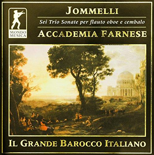 Jommelli: Sei trio sonate per flauto, oboe e cembalo
