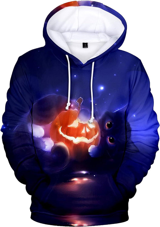 Sacramento Mall Men's Hoodies Sweatshirt Fashion Halloween 3D Ca Ranking TOP3 Digital Printed