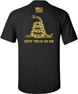 The Black Classic - Gadsden Don't Tread On Me Shirt