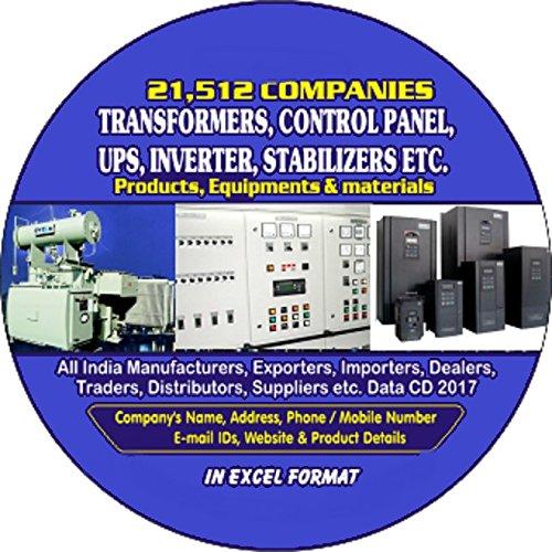 Transformer, Control Panel, UPS, Inverter, Generator, Stabilizers etc. Companies Data