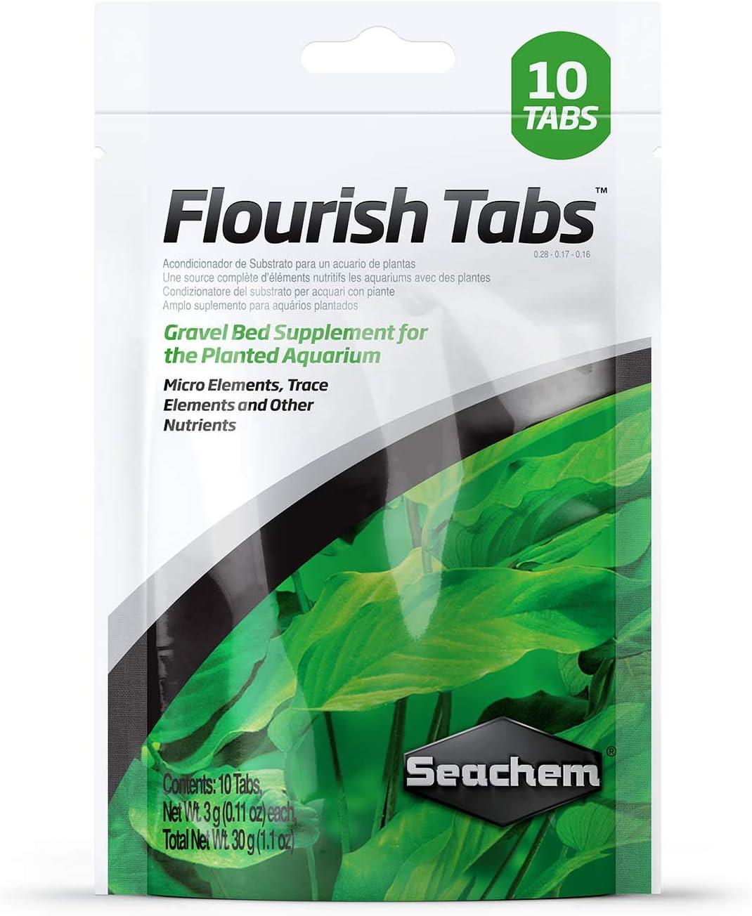 Ranking TOP10 Seachem Flourish Tabs Growth Supplement Plant - Time sale Stimulan Aquatic