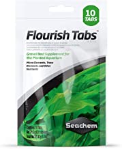 Seachem Flourish Tabs Growth Supplement – Aquatic Plant Stimulant 10 ct