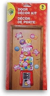 Greenbrier International ''Bursting with Talent'' Gumball Themed Classroom Door Decor Kit - 9 Piece