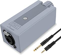 Donner EM1 Rechargeable Portable Personal in-Ear Monitor Amplifier Analog Headphone Amplifier Stereo Headphone Earphone Am...