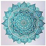 Bimkole 5d Diamond Painting Kit Bricolaje Arte Flor, Pintura Abstracta Pintura Diamantes Kits Estampados De Punto De Cruz Diamantes de Imitación Decoración de Pared, (30x30 cm)