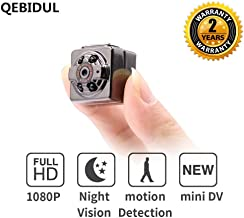 QEBIDUL SQ8 Mini Camera 1080p 720p Full HD Dash Cam Night Vision Home Infrared Aluminum Digital Video Recorder