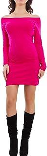 Toocool - Miniabito Donna Vestito Basic Cotone Scollo Barchetta Aderente Nuovo AS-605