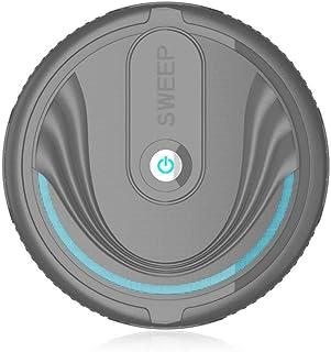 Robot de Barrido Inteligente M?quina de Limpieza autom?tica para el hogar M?quina de Limpieza para aspiradora Inteligente Perezosa Mini (Color: Negro)