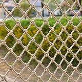 NZBⓇ Red de Seguridad para Gatos para Balcones Y Ventanas Redes Protectoras Anticaídas para Mascotas Valla Escaleras Malla Perro Mascota Blanco Red Anti-Escape para Gatos Red de