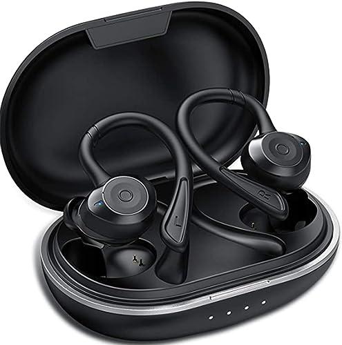 Ecouteur Bluetooth, Muzili IPX7 Écouteur sans Fil Sport Étanche 3D Hi-FI Son Stéréo, Anti-Bruit CVC 8.0, 80 Heures Du...