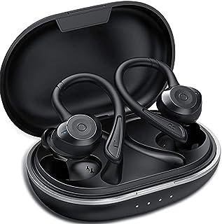 Muzili Auriculares Bluetooth Deportivos V5.0 IPX7 Impermeable Auriculares Bluetooth Inalambricos Movil 36H Tiempo de Repro...