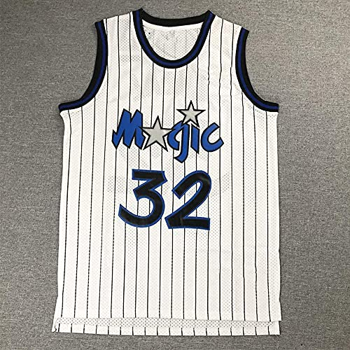 Ropa Jersey de Baloncesto para Hombres, NBA Orlando Magic # 32 Shaquille O'Neal Jersey, Camiseta sin Mangas Transpirable Camiseta Retro al Aire Libre Chaleco Deportivo(Size:/M,Color:G1)
