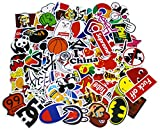 NF Orange Stickers Pack Cool, 100 Pcs Vinyl Waterproof Tide Brand Stickers, for Laptop, Luggage, Car, Skateboard, Motorcycle, Bicycle Decal Graffiti Patches